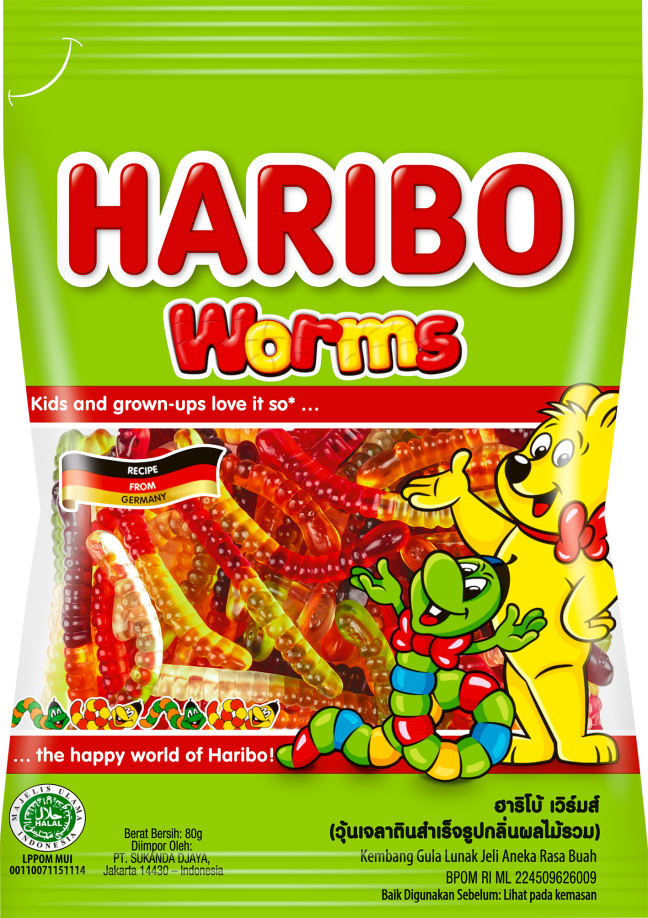 Worms 80g f 1