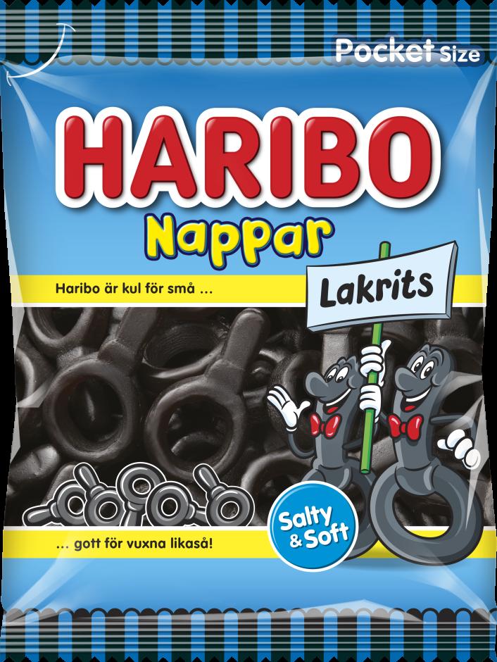 Nappar Lakrits 80g