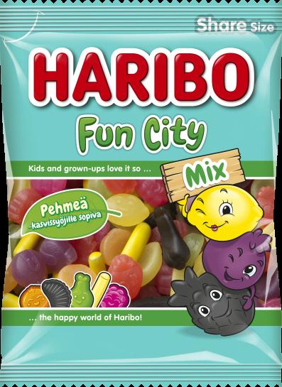 Fun City Mix 275g relaunch