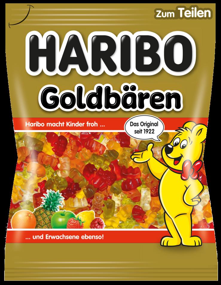 Beutel HARIBO Goldbären (150g)