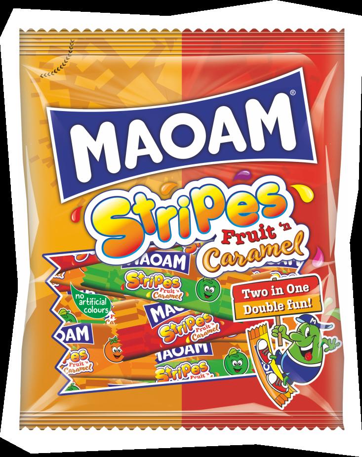 MAOAM Stripes Fruit Caramel