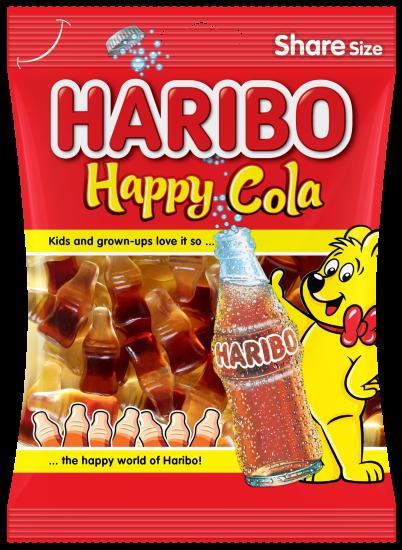 Bag of HARIBO Happy-Cola
