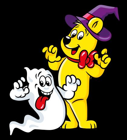 Halloween Goldbear Ghost 01