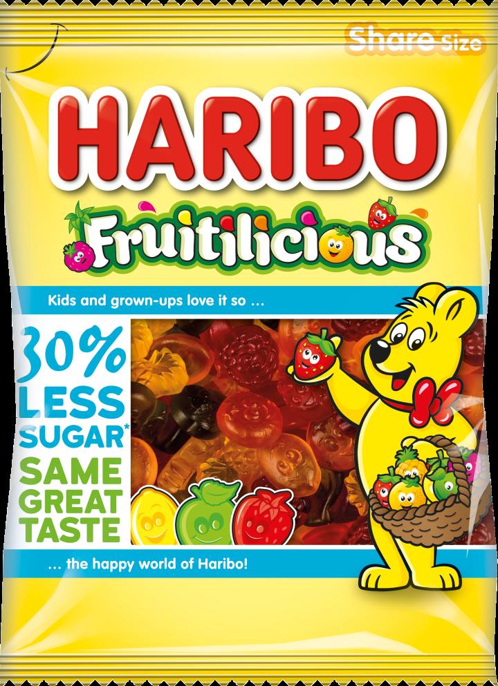 Packshot of Fruitilicious