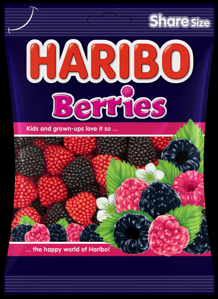 Bag of HARIBO Berries
