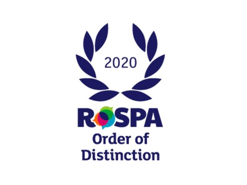 RoSPA Order of Distinction 2020