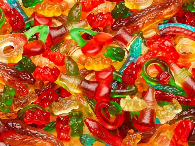 Starmix gummi pieces
