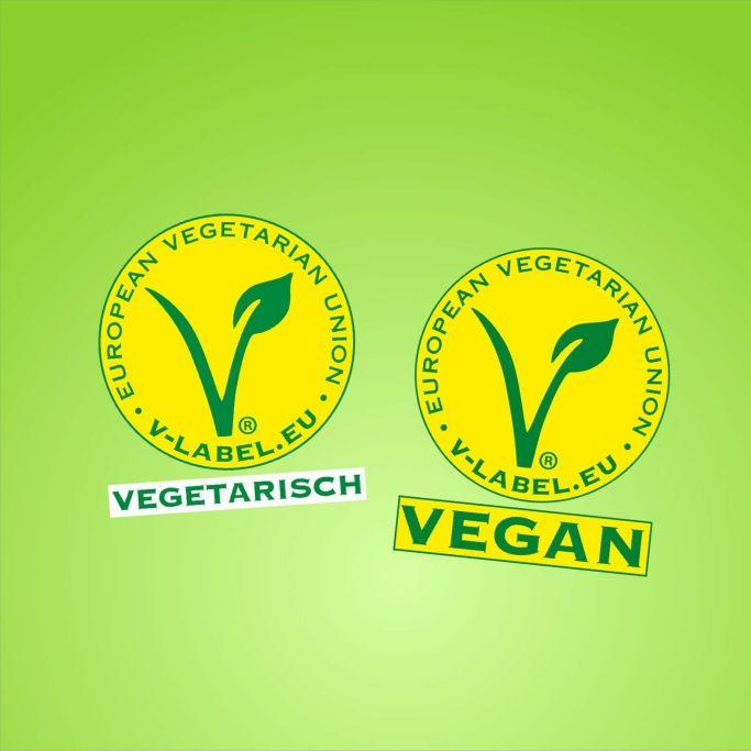 Veggie Vegan Label