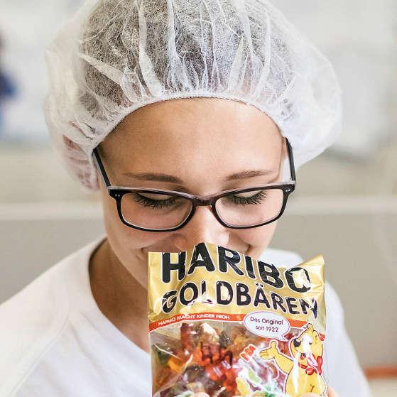 Contrôle qualité des Ours d'or HARIBO