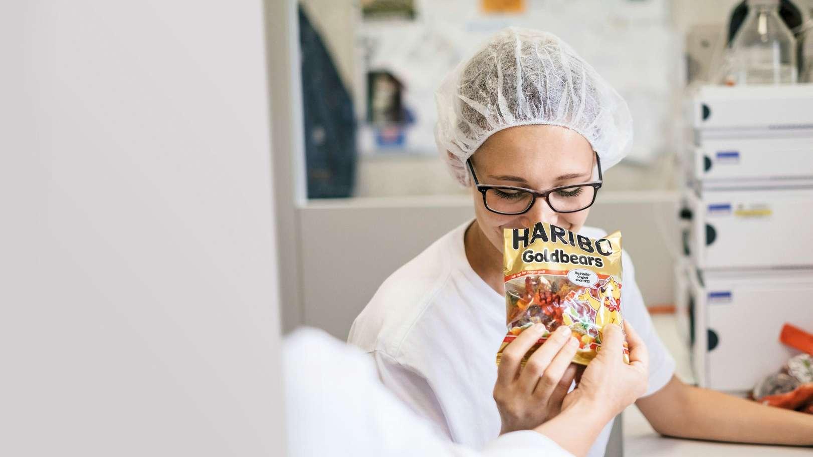 Kvalitetssjekk av HARIBO Goldbears