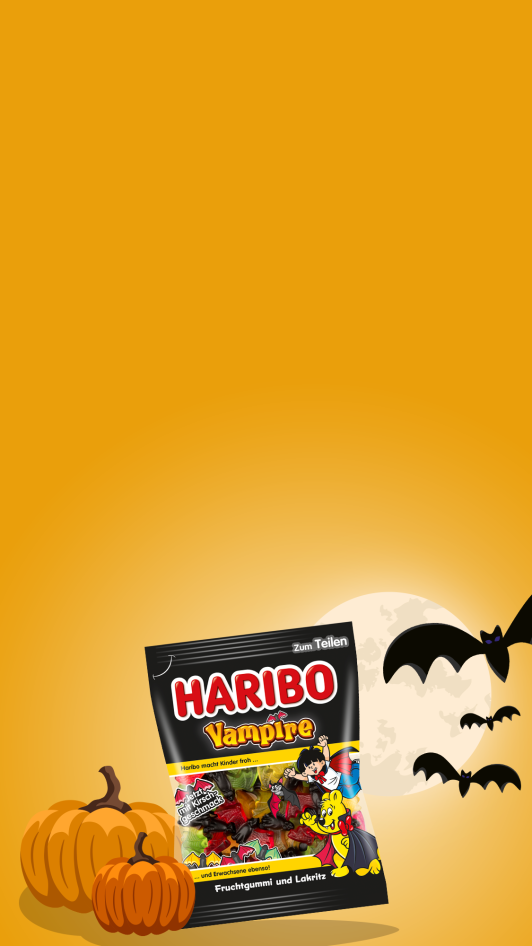HARIBO Halloween Stage Template mobil