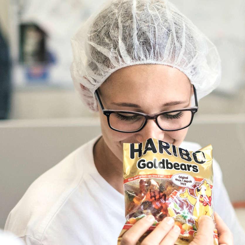 Qualitätscheck der HARIBO Goldbären
