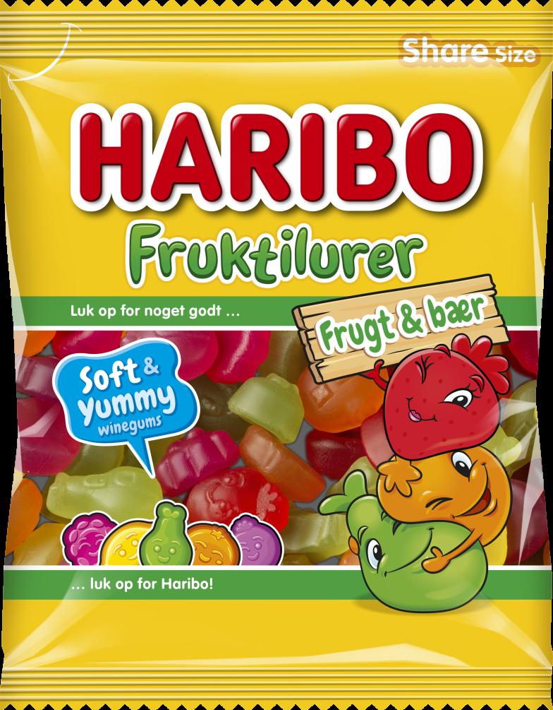 Fruktilurer Frukt Baer 120g relaunch