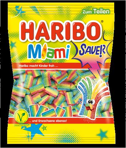 Beutel HARIBO Miami Sour (175g)