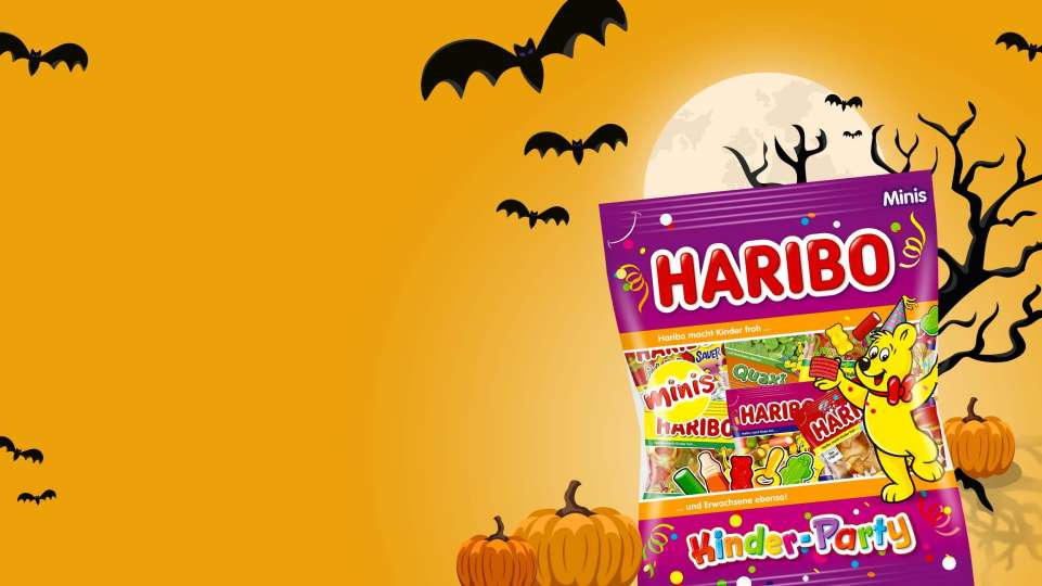 HARIBO Halloween Stage Template