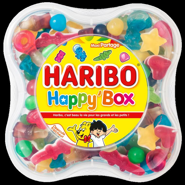 Boite HARIBO Happy Box 600g