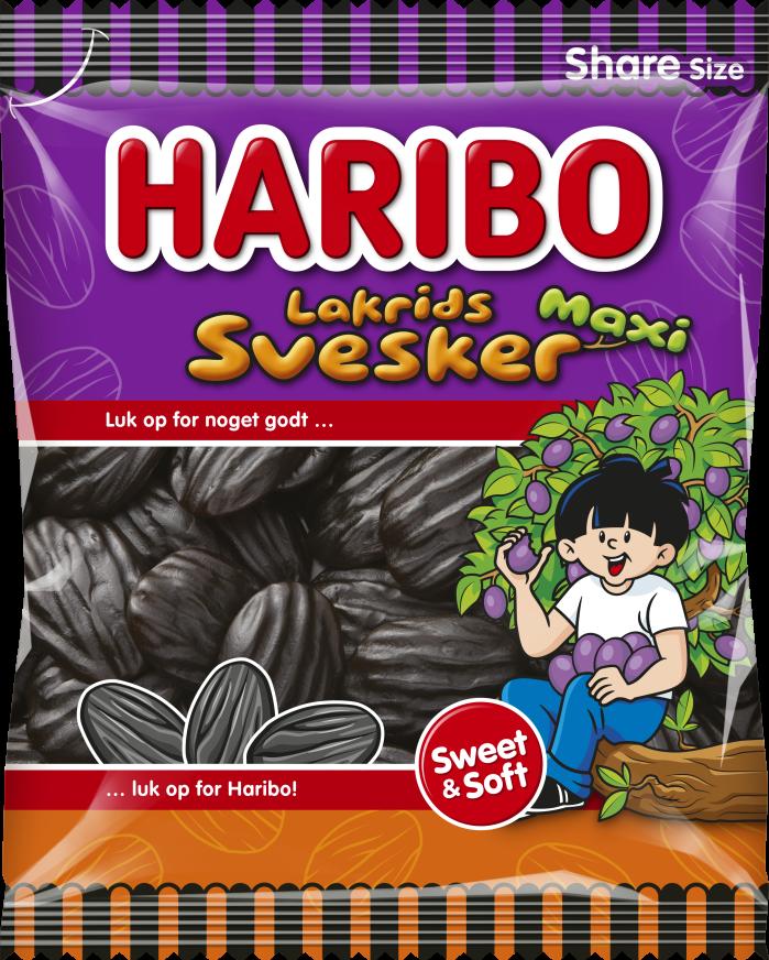 Lakrids Svesker Maxi 200g
