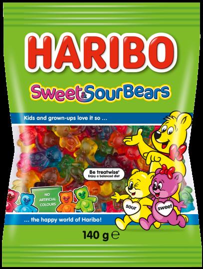 Beutel HARIBO Sweet Sour Bears