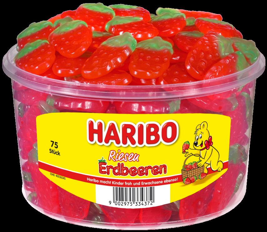 Dose HARIBO Riesen Erdbeeren