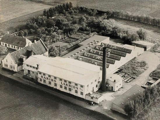 Historie 1962 Fabrik