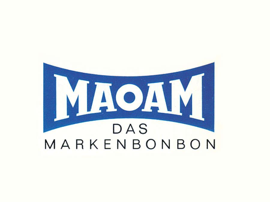 Logótipo do rebuçado mastigável de frutas MAOAM