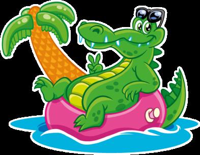 products-Illu -Grüne Krokodile