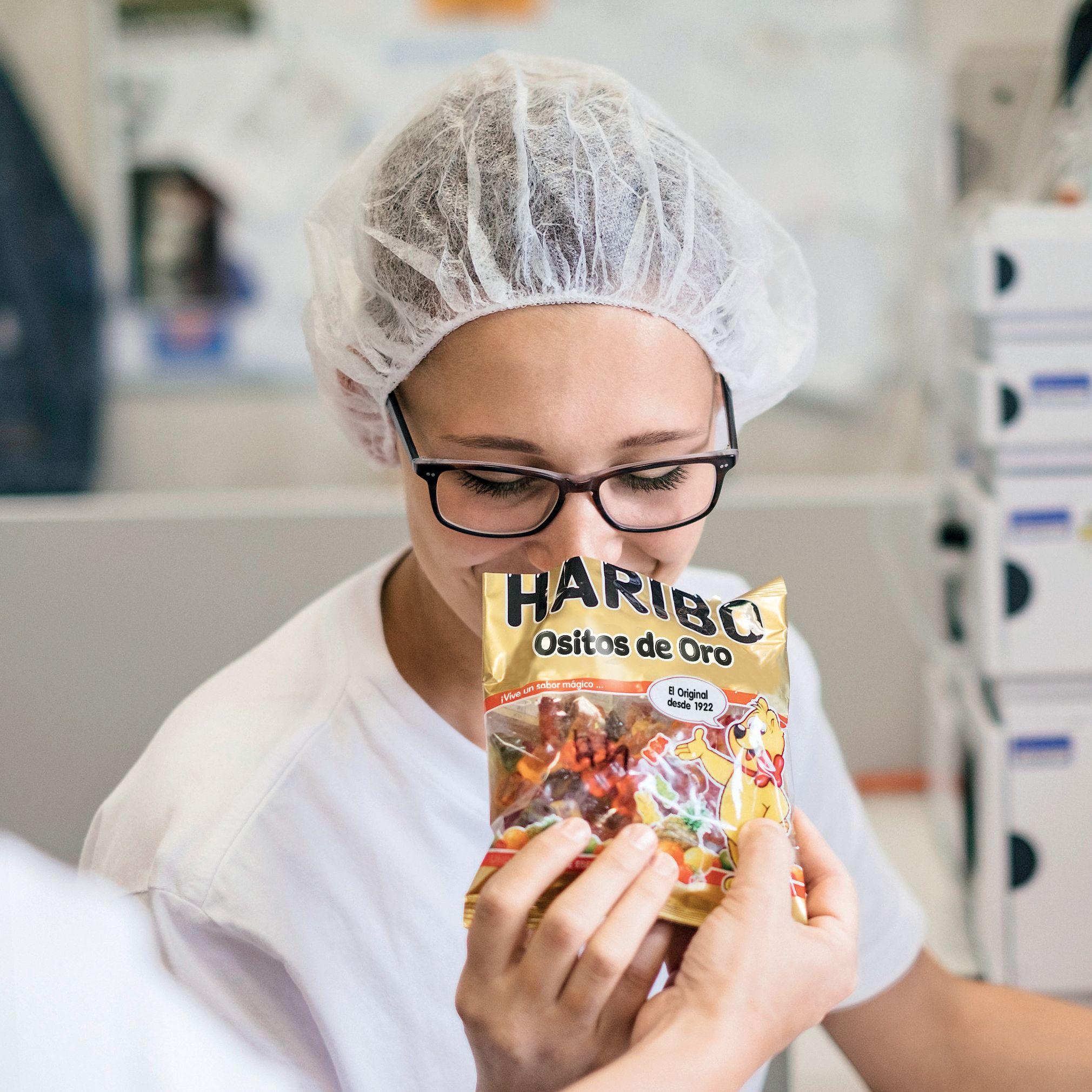 Control de calidad de los Ositos de Oro HARIBO
