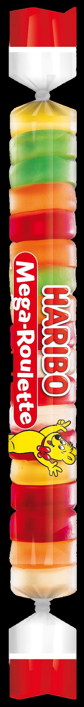 Sachet de HARIBO Mega Roulette